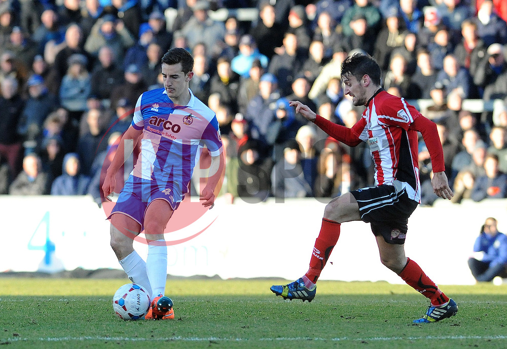 Bristol Rovers' Tom Lockyer - Photo mandatory by-line: Neil Brookman/JMP - Mobile: 07966 386802 - 21/02/2015 - SPORT - Football - Bristol - Memorial Stadium - Bristol Rovers v Altrincham - Vanarama Football Conference
