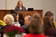 Director of Alumni Relations Kathy Rozanski - Rowan University Homecoming Sports Hall of Fame Class of 2011 Induction on Sunday October 23, 2011. (Photo / Mat Boyle)
