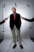 ©2007 SWEDEN. Carl Bildt, swedish foreign minister. Client Fokus.