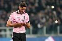 17.02.2017 - Torino - Serie A 2016/17 - 25a giornata  -  Juventus-Palermo nella  foto: La delusione di Andrea Rispoli
