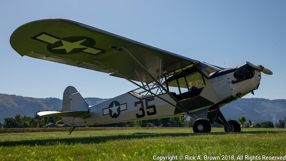 Piper L-4 at WAAAM.