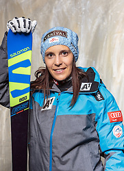 08.10.2016, Olympia Eisstadion, Innsbruck, AUT, OeSV Einkleidung Winterkollektion, Portraits 2016, im Bild Katrin Ofner, Skicross, Damen // during the Outfitting of the Ski Austria Winter Collection and official Portrait Photoshooting at the Olympia Eisstadion in Innsbruck, Austria on 2016/10/08. EXPA Pictures © 2016, PhotoCredit: EXPA/ JFK