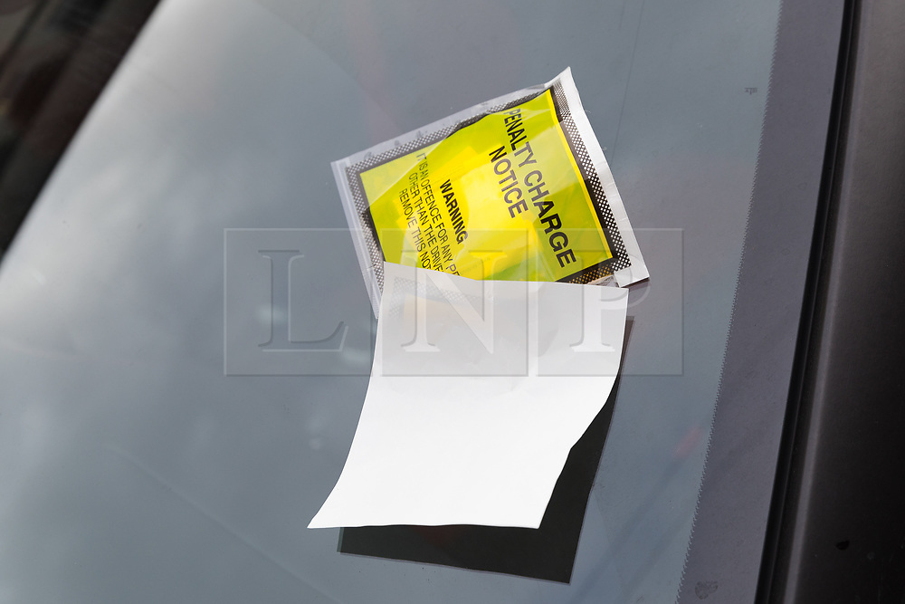 © Licensed to London News Pictures. 06/03/2019. London, UK.  A parking ticket seen on Stoke City footballer, Saido Berahino's car left outside Highbury Corner Magistrates court. The Stoke City and Burundi striker, Saido Berahino has been charged with drink-driving.  Photo credit: Vickie Flores/LNP