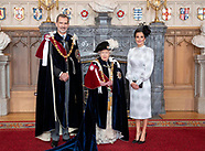 061719 King Felipe recieves the Garter Order at Windsor palace