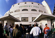 """CHICAGO, IL-UNDATED:  """"Old"""" Comiskey Park, home of the Chicago White Sox from 1910 thru 1990.  It was demolished in 1991.  (Photo by Ron Vesely)"""