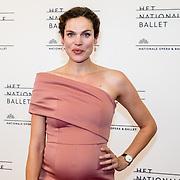 NLD/Amsterdam/20160907 - Inloop Gala van het Nationale Ballet 2016, zwangere Anna Drijver