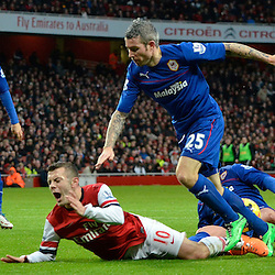 Arsenal v Cardiff City | Premiership | 1 January 2014