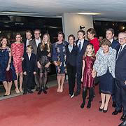 NLD/Apeldoorn/20180119 - Verjaardagsconcert Prinses Margriet 75 Jaar, Prinses Margriet en Pieter van Vollenhoven met hun kinderen en kleinkinderen