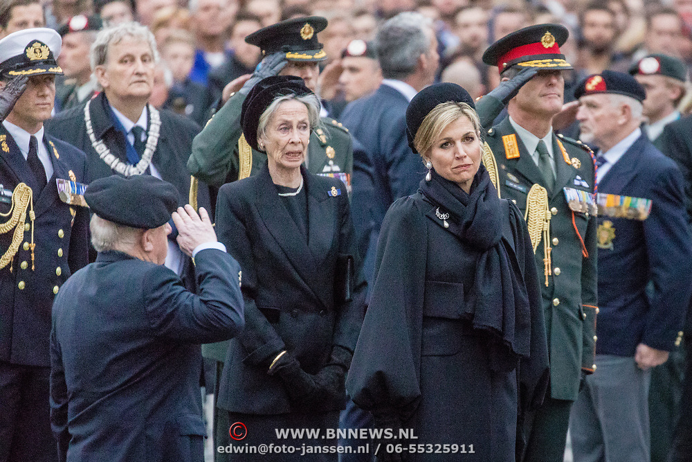 NLD/Amsterdam/20170504 - Nationale Herdenking 2017, Maxima