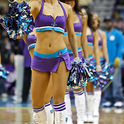 February 7, 2011; New Orleans, LA, USA; New Orleans Hornets Honeybees dancers perform during the first quarter of a game against the Minnesota Timberwolves at the New Orleans Arena.   Mandatory Credit: Derick E. Hingle
