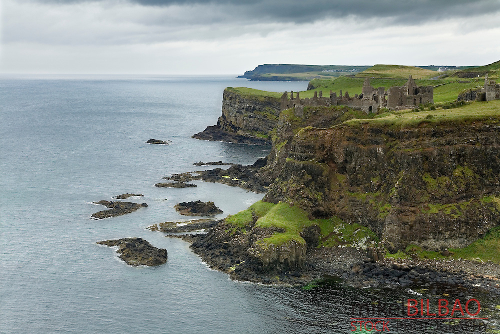 Dunluce Castle, in &quot;Causeway Route&quot; coast. <br /> Northern Ireland, United Kingdom (3)