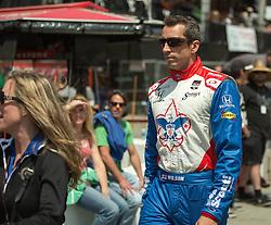 Justin Wilson in pit lane LBGP 2014