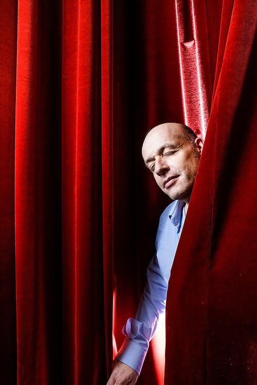 Laurent Nicolet est un humoriste suisse <br /> Gen&egrave;ve, novembre 2016<br /> &copy;Nicolas Righetti/ Lundi13