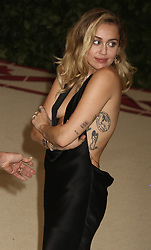 May 7, 2018 - New York City, New York, U.S. - Singer MILEY CYRUS attends the Costume Institute Benefit celebrating the opening of Heavenly Bodies: Fashion and the Catholic Imagination exhibit held at at The Metropolitan Museum of Art. (Credit Image: © Nancy Kaszerman via ZUMA Wire)
