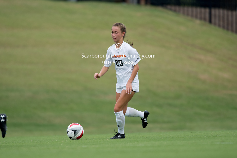 2017 Campbell University Women Soccer vs Davidson College