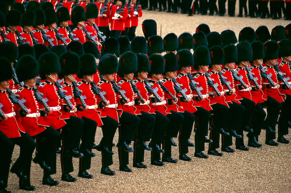 Trooping the Color (Queen Elizabeth II's birthday parade), Horse Guards Parade, London, England