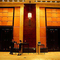 BEIJING, MARCH 18 :a meeting room in the  new Sofitel in Beijing, March 18, 2008.