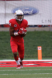 NORMAL, IL - September 08: Christian Uphoff during 107th Mid-America Classic college football game between the ISU (Illinois State University) Redbirds and the Eastern Illinois Panthers on September 08 2018 at Hancock Stadium in Normal, IL. (Photo by Alan Look)