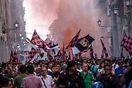 Tifosi rosanero in piazza contro Zamparini