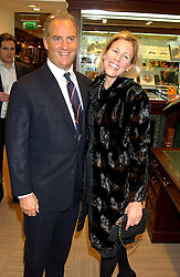 CHARLES & SYDNEY FINCH at a party hosted by the Gussalli Beretta family to celebrate the opening of the new Beretta store, 36 St.James's Street, London SW1 on 10th January 2006.<br /><br />NON EXCLUSIVE - WORLD RIGHTS