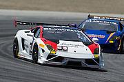 May 2-4, 2014: Laguna Seca Raceway. #63 John Farano, Jota Corse, Lamborghini of Dallas