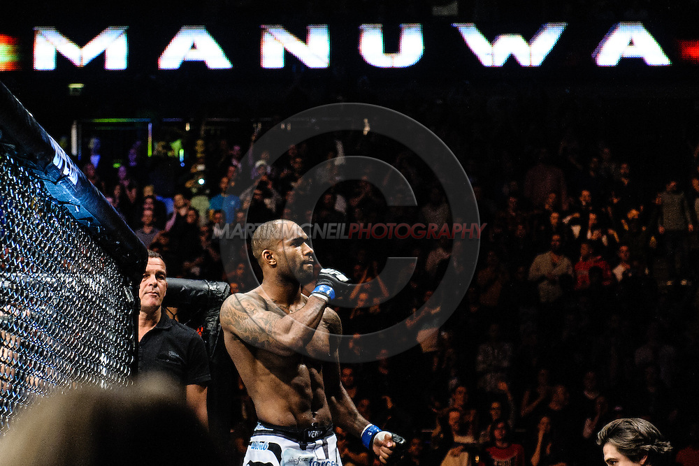"""LONDON, ENGLAND, MARCH 8, 2014:  during """"UFC Fight Night: Gustafsson vs. Manuwa"""" inside the O2 Arena in Greenwich, London on Saturday, March 8, 2014 (© Martin McNeil)"""