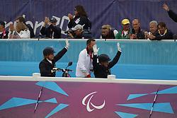 Näpel, Britta;<br /> Trabert, Angelika;<br /> Fliegl, Bernahrd, <br /> London Paralympics 2012<br /> Grade II<br /> © www.sportfotos-lafrentz.de/ Stefan Lafrentz