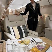 20130222 HELSINKI-VANTAA Airfix Aviation. Gulfstream 650, ruokakuvaukset. Kuva: Ismo Henttonen.