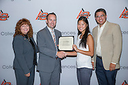Freshmen and Transfer Student scholarship reception.<br /> Ag Centennial Scholarship presented to Vanessa Wong