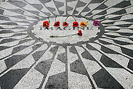 Imagine at Strawberry Fields; Central Park, New York