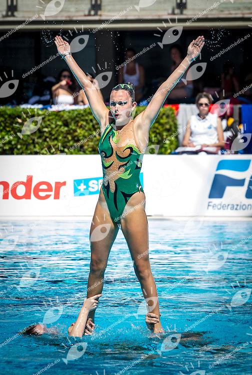 Pallanuto Livorno<br /> Preliminari Combo<br /> Campionato assoluto estivo nuoto sincronizzato<br /> 6-8 Giugno 2014<br /> Roma, Foro Italico<br /> Day02<br /> Photo Pasquale Mesiano/Deepbluemedia/Insidefoto
