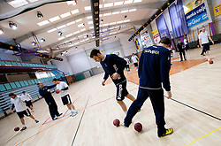 Borut Mackovsek during practice session of Slovenian Handball Men National Team, on January 11, 2011, in Zrece, Slovenia. (Photo by Vid Ponikvar / Sportida)