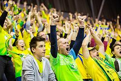 Florijani, fans of Celje during handball match between RK Celje Pivovarna Lasko (SLO) and Rhein-Neckar Loewen (GER) in Round 6 of EHF Champions League 2014/15, on November 23, 2014 in Arena Zlatorog, Celje, Slovenia. Photo by Vid Ponikvar / Sportida