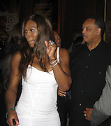 Serena Williams dancing with Rev. Jesse Jackson.Black Enterprise Magazine Party.Beverly Whilshire Hotel.Beverly Hills, California, USA.Wednesday, February 21, 2007.Photo By Celebrityvibe; .To license this image please call (212) 410 5354 ; or.Email: celebrityvibe@gmail.com ;