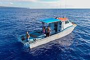 Fishing boat, Molokai, Hawaii