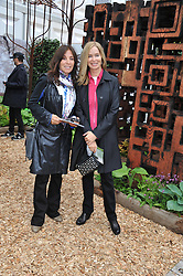 Left to right, OLIVIA HARRISON and BARBARA BACH at the 2013 RHS Chelsea Flower Show held in the grounds of the Royal Hospital, Chelsea on 20th May 2013.
