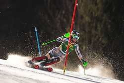 Nina Haver Loeseth (NOR) during the Ladies' Slalom at 56th Golden Fox event at Audi FIS Ski World Cup 2019/20, on February 16, 2020 in Podkoren, Kranjska Gora, Slovenia. Photo by Matic Ritonja / Sportida
