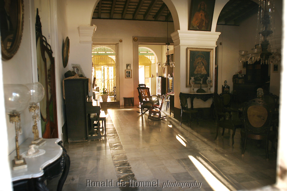 colonial interior in trinidad