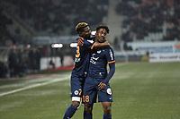 But et joie de Mbenza - Mukiele<br /> <br /> FOOTBALL : Nancy vs Montpellier - Ligue 1 - 11/02/2017<br /> <br /> Norway only
