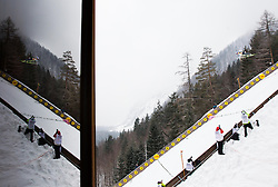 Gregor Schlierenzauer of Austria spars through of the air during the Flying Hill Individual Event at 4th day of FIS Ski Jumping World Cup Finals Planica 2013, on March 24, 2013, in Planica, Slovenia. (Photo by Vid Ponikvar / Sportida.com)