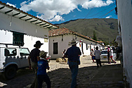 Colonial town of Villa de Leyva, Colombia