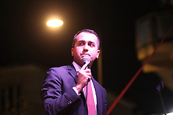 May 3, 2019 - Casoria, Campania/Napoli, Italy - Luigi Di Maio, Vice Premier and political leader of the ''MOVIMENTO 5 STELLE'' opens the electoral campaign in Casoria. (Credit Image: © Salvatore Esposito/Pacific Press via ZUMA Wire)