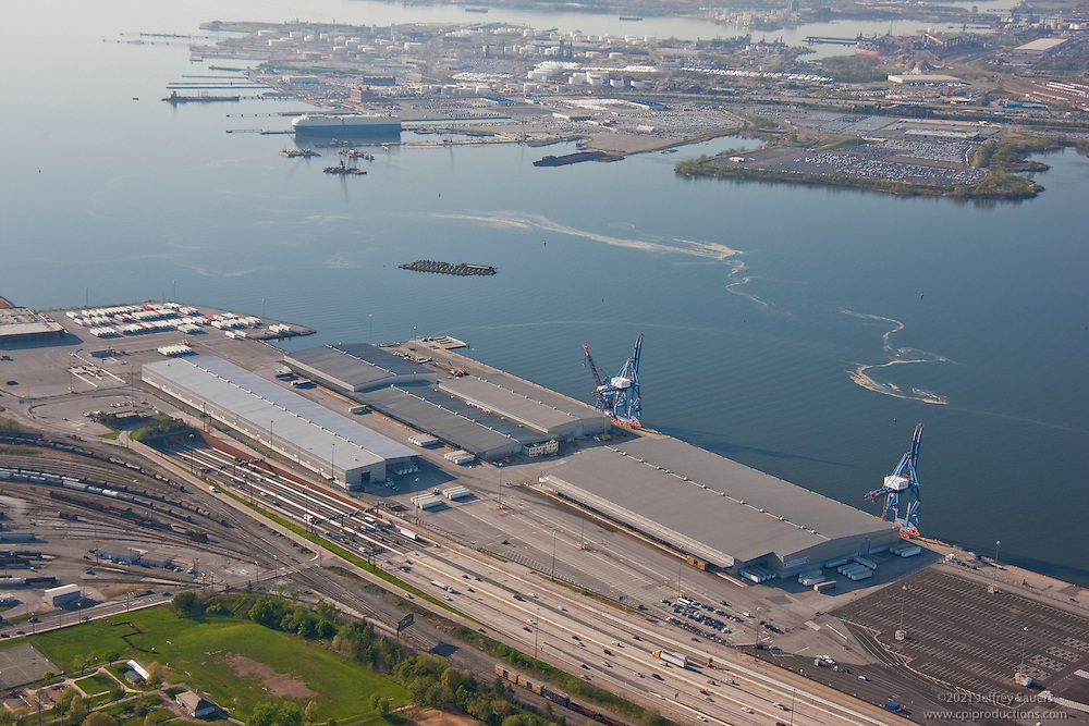 Maryland Port Administration South Locust Point Terminal Aerial Photo