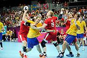 DESCRIZIONE : Handball Jeux Olympiques Londres Quart de Finale<br /> GIOCATORE : EKDAHL du RIETZ Kim Toft DAN<br /> SQUADRA : Danemark Homme<br /> EVENTO : Handball Jeux Olympiques<br /> GARA : Danemark Suede<br /> DATA : 08 08 2012<br /> CATEGORIA : handball Jeux Olympiques<br /> SPORT : HANDBALL<br /> AUTORE : JF Molliere <br /> Galleria : France JEUX OLYMPIQUES 2012 Action<br /> Fotonotizia : France Handball Homme Jeux Olympiques Londres Quart de Finale Basketball Arena<br /> Predefinita :