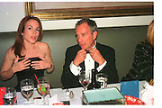 MICHAEL BLOOMBERG.  Vanity Fair Oscar night party. Mortons. Los Angeles. 28 March 1999. Film 99185f12<br /> © Copyright Photograph by Dafydd Jones 66 Stockwell Park Rd. London SW9 0DA<br /> Tel 0171 733 0108<br /> www.dafjones.com