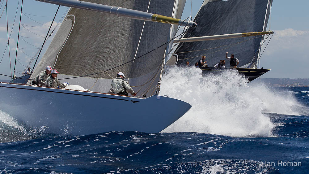 SPAIN, Palma. 19th June 2013. Superyacht Cup. J Class. Race One.