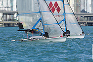 MIAMI, February 2, 2013 - The race marks the second event in the ISAF World Sailing Cup series and an important event in the selection of Olympic sailing teams.