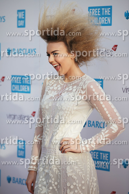 Talia Storm at WE Day, London, Britain 5th March 2015. EXPA Pictures &copy; 2015, PhotoCredit: EXPA/ Photoshot/ James Shaw<br /> <br /> *****ATTENTION - for AUT, SLO, CRO, SRB, BIH, MAZ only*****