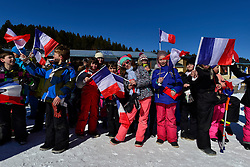 Europa Cup Finals Banked Slalom Medal Ceremony, Spectators at the 2016 IPC Snowboard Europa Cup Finals and World Cup