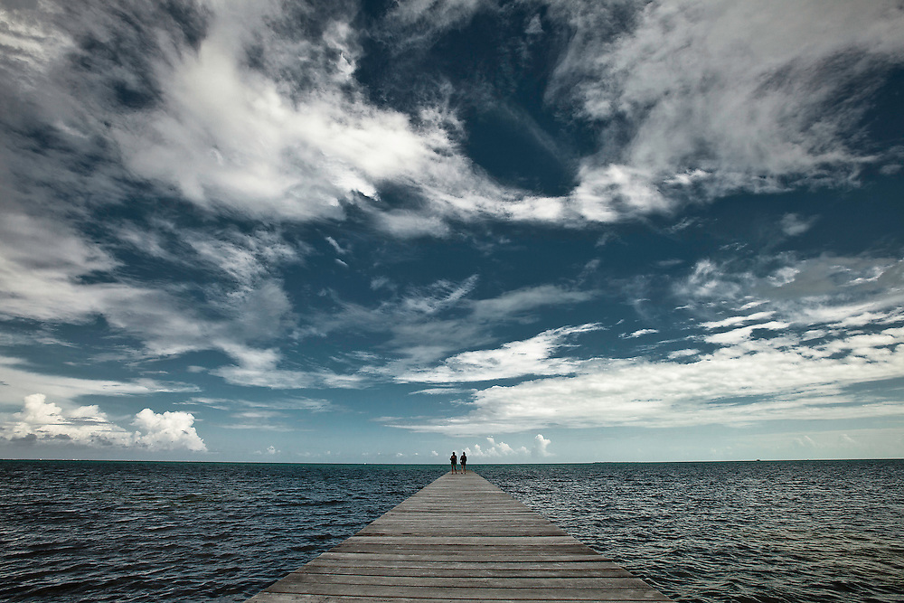 San Pedro, Belize.  Copyright 2014 Reid McNally.